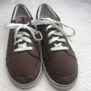 KEDS Anchor Canvas Brown Comfort Sneakers Size 9